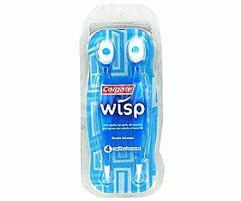 Colgate Minicepillo Viaje de un sólo uso Azul 4u
