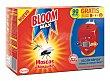 Insecticida eléctrico moscas y mosquitos 2 aparatos + 1 recambio Bloom
