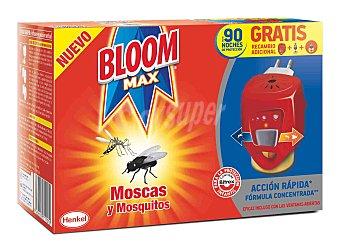 Bloom Insecticida eléctrico moscas y mosquitos 2 aparatos + 1 recambio