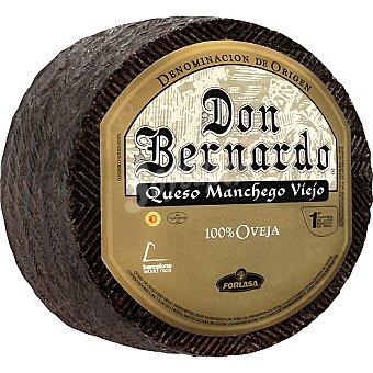 Don Bernardo Oro Queso viejo D.O. Manchego 100 g (venta mínima granel) y 3 kg (peso aprox pieza)