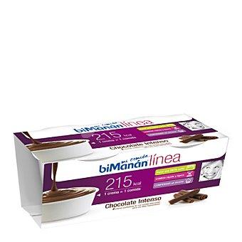 Bimanan Crema de chocolate Pack de 2x210 g