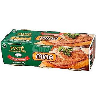Mina Pate . x 70 g Pack 3 un