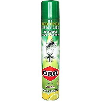 Oro Insecticida volador moscas y mosquitos aroma limon Spray 1000 ml