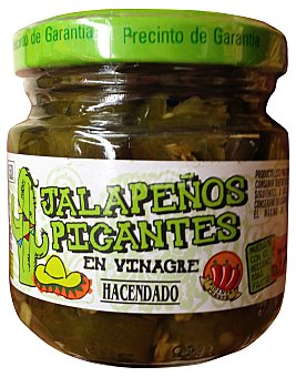Hacendado Jalapeños picantes Tarro 60 g