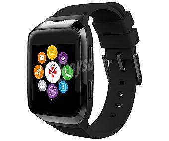 Mykronoz ZESPLASH2 Reloj inteligente, pantalla táctil, micrófono y altavoz, medidor ritmo cardíaco, llamada entrante, notificaciones, alerta por vibración, autonomías hasta 3 días, conexión Bluetooth