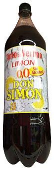 Don Simón Tinto verano limón sin alcohol PET 2 l