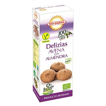 BIO-DARMA Galleta ecólogica avena con almendra 110 g