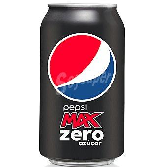 Pepsi Refresco Pepsi Max Extra cafeína Zero Azúcar Lata 33 cl
