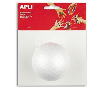 APLI Bola de porexpan de 80 milímetros 1 Unidad
