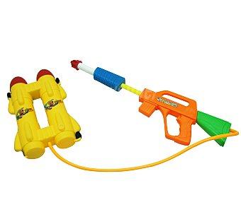 EURASPA Pistola de agua con cargador, 33x62x6 cm 1 unidad
