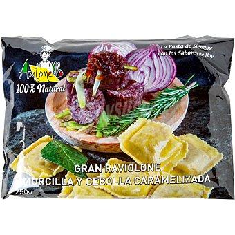 Antonello Gran raviolone relleno de morcilla y cebolla estuche 250 g Estuche 250 g