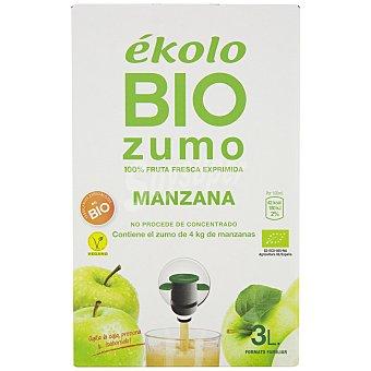 Ékolo Zumo de manzana ecológico Brik 3 l