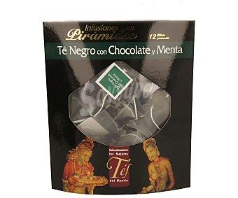 TÉ DEL MUNDO Té negro con chocolate y menta 12 filtros