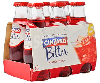 Cinzano Biter con soda Pack 6x10 cl