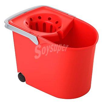 Tatay Cubo escurridor con ruedas rojo Pack 1 unid