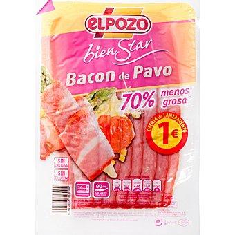 ElPozo Bacon de pavo Bienestar envase 120 g