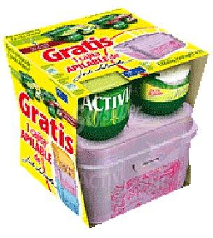 Activia Danone 4 yogures Frutas del bosque + 4 yogures pera Activia Pack de 8x125 g