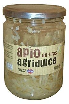 Hacendado Apio agridulce tiras conserva Tarro de 250 g peso escurrido