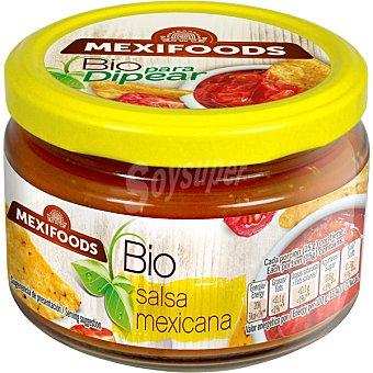 MEXIFOODS Salsa mexicana ecológica envase 260 g