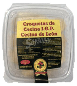 La Ermita Croquetas cecina león congeladas delicatessen 270 g