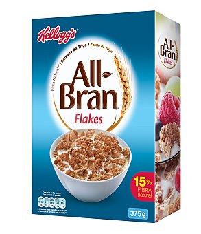 All bran Kellogg's All-Bran de Kellogg's Cereales Flakes 375 gr.