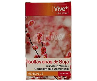Vive+ Isoflavonas de soja 30 unidades
