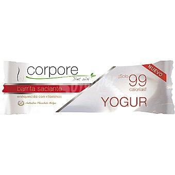 CORPORE DIET Barrita saciante sabor yogurt con vitaminas envase 20 g Envase 20 g