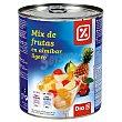 Mix de frutas en almibar ligero lata 480 gr Lata 480 gr DIA