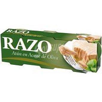 RAZO Atún en Aceite de Oliva Pack 3 latas