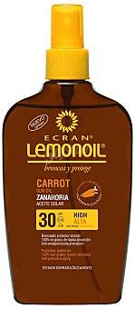 Ecran Lemonoil Aceite protector - Zanahoria SPF30 200 ml
