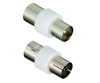 Qilive Conectores coaxial-coaxial 3 unidades