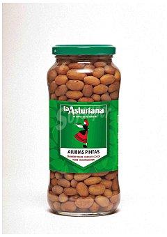 La Asturiana Alubias pintas cocidas Frasco 400 g peso neto escurrido