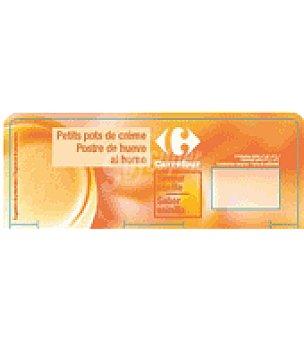 Carrefour Postre de huevo al horno vainilla Pack de 2x100 g