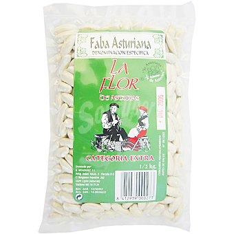 La flor de asturias Alubias especial fabada D.O. Asturias Paquete 500 g