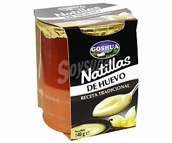 Goshua Natillas de huevo 140 g