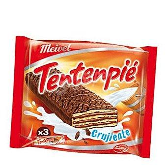 Meivel Barrita de barquillo crujiente cubierta de chocolate 3 ud