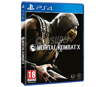 WARNER BROS Mortal Kombat X Ps4 1 unidad
