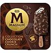 Helados magnum cookie 3 unidades Crunch Nestlé