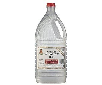 Las Cadenas Bebida espirituosa anisada para macerar endrinas garrafa de 3 l