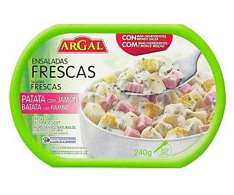 Argal Ensalada de patata con jamón Tarrina 240 g