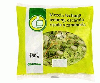 Productos Económicos Alcampo Mezcla Lechuga, Escarola Rizada y Zanahoria 150g