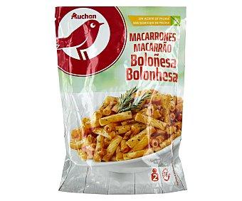 PRODUCTO ALCAMPO Macarrones a la boloñesa 142 g