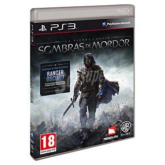 PS3 Videojuego La Tierra Media: Sombras de Mordor  1 unidad