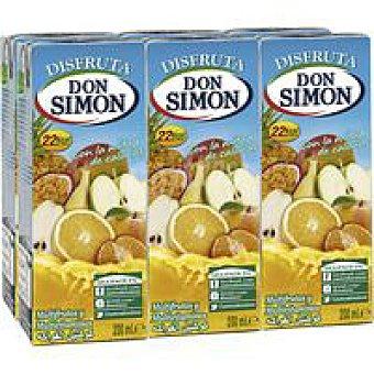 Don Simón Nectar sin azúcar multivitaminas Pack 6 x 20 cl