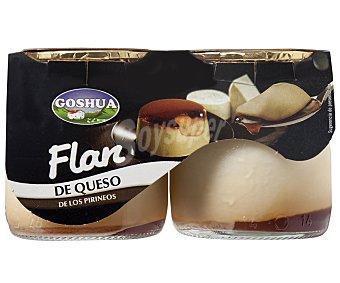 Goshua Flan de queso Pack 2x125 g