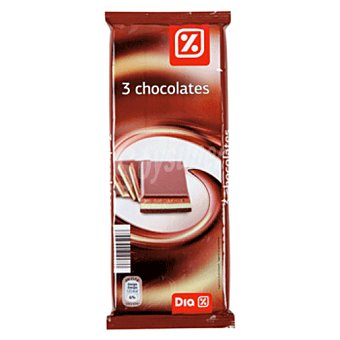 DIA 3 chocolates tableta 300 gr