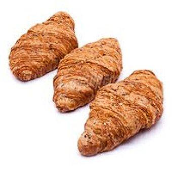 Eroski Croisssant multicereal-mantequilla Bandeja 240 g