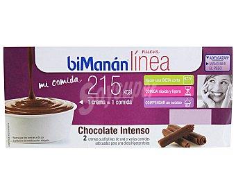 Bimanan Crema Chocolate 2 Unidades x 100 Gramos