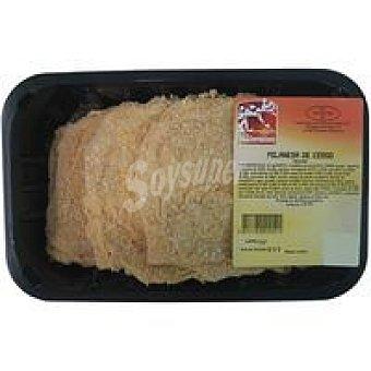 Milanesa de cerdo envasada 1 kg
