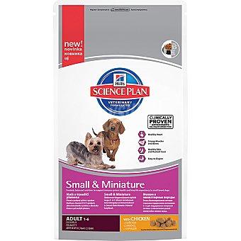 HILL'S SCIENCE PLAN ADULT Small & Miniature Nutrición superior para perros de raza pequeña y miniatura con pollo Bolsa 300 g
